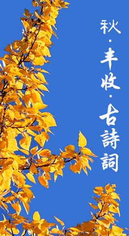 图解|秋天,邂逅诗词里最美的丰收