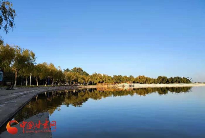 金水湖,镍都额头的一面镜子(图)