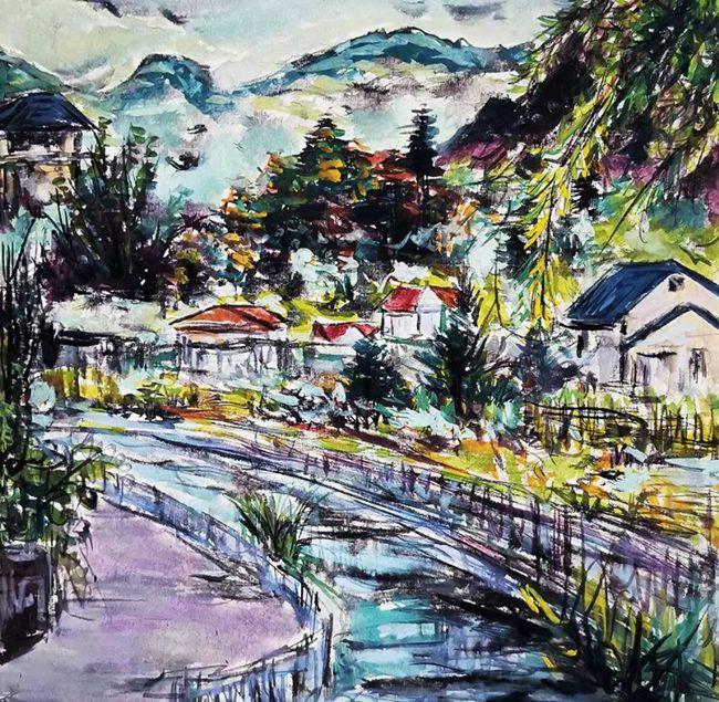 《中国美丽乡村风景绘画集·浙江卷》创作启动仪式举行