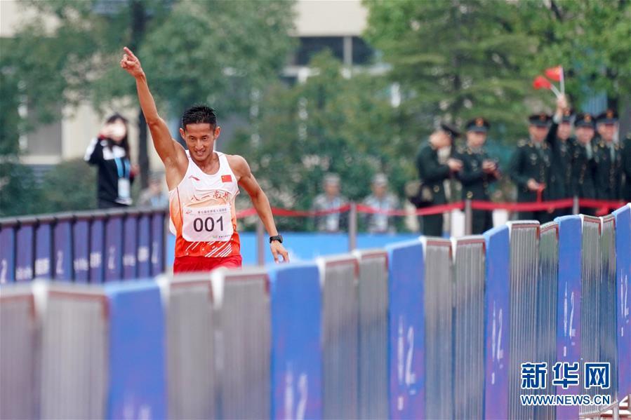 (军运会)(4)军事五项——男子个人全能:中国选手包揽冠亚军