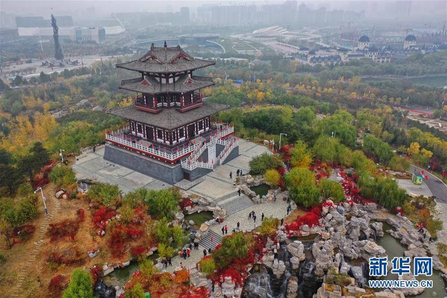 (环境)(3)河北唐山:南湖秋色美