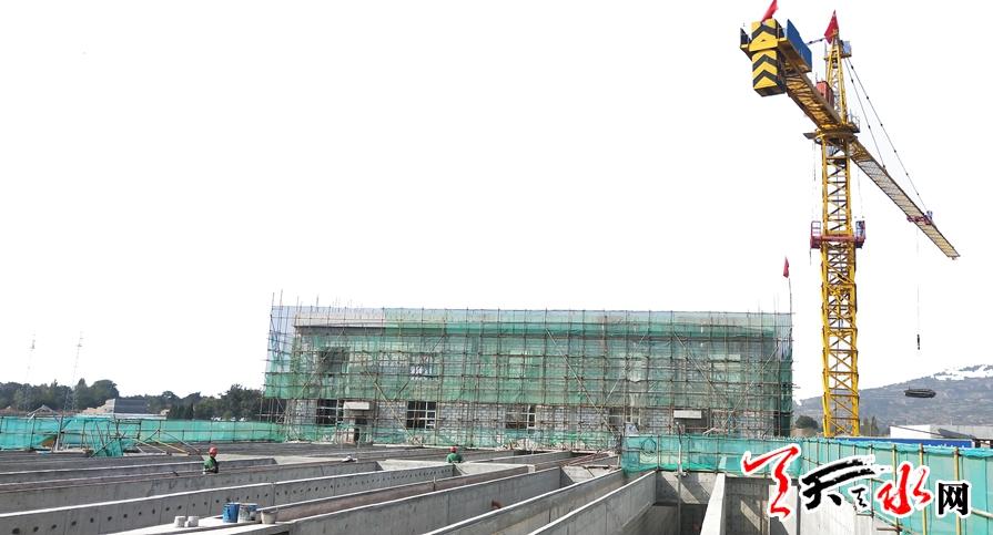 【重点项目建设·武山篇】探访城市污水处理厂异地新建工程