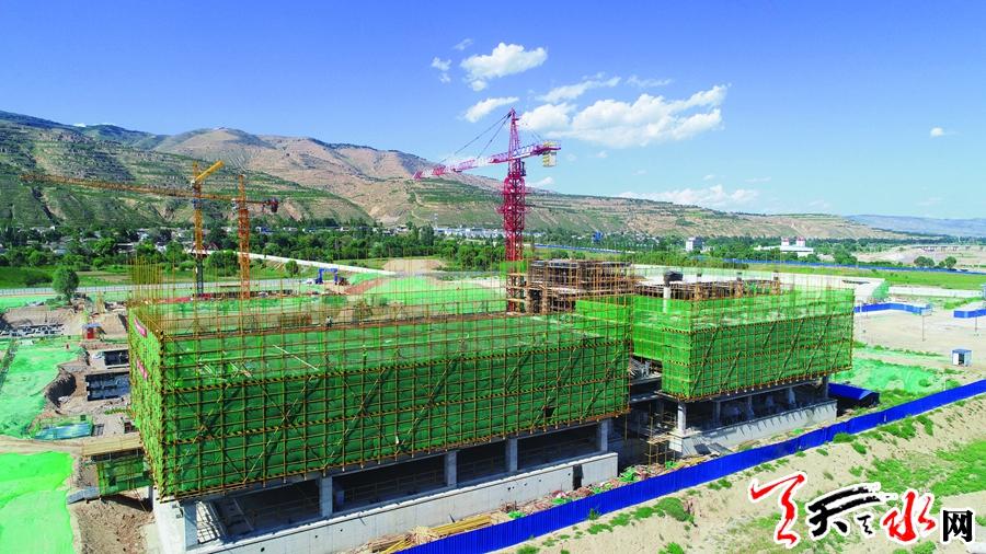 【重点项目建设·武山篇】武山县一中:举校迁建瓶颈破