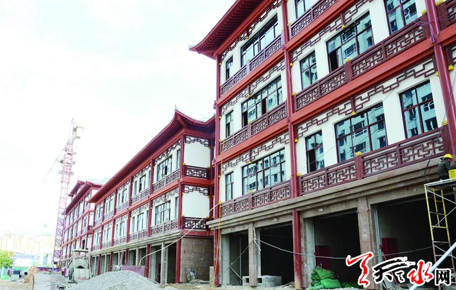 【重点项目建设·武山篇】探访武山县宁远文化艺术中心项目