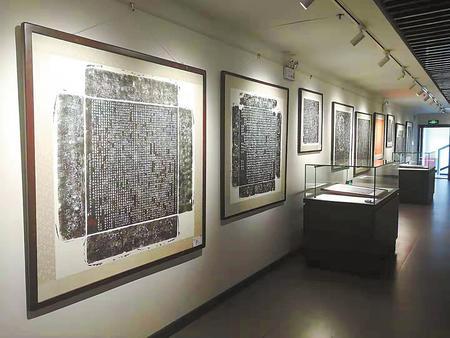 贞石不朽风华永存——洛阳唐代墓志拓片巡展在兰州市博物馆展出