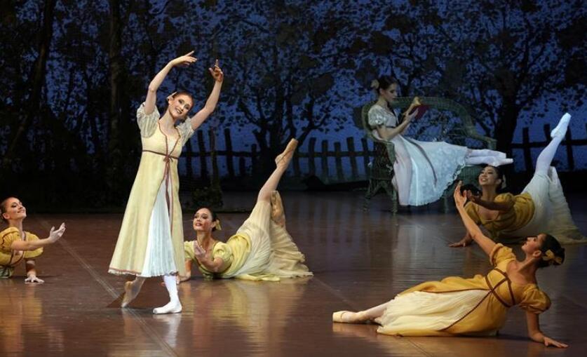 芭蕾舞剧《奥涅金》在京上演