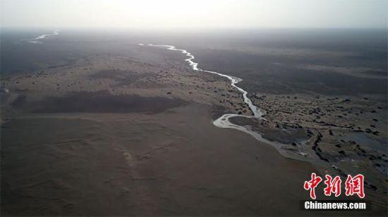 甘肃疏勒河重现