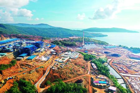 印尼金川红土镍项目全面建成投产