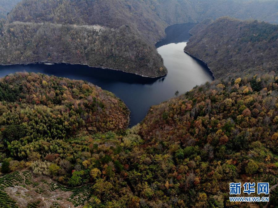(环境)(1)安徽潜山:俯瞰大别山区
