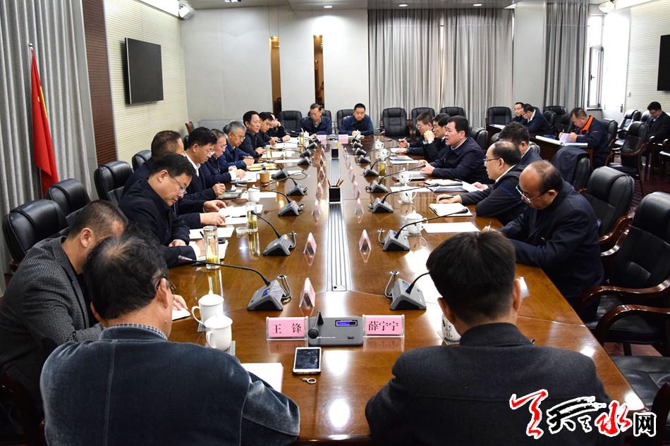 王锐会见中国铁路兰州局集团公司总经理李力