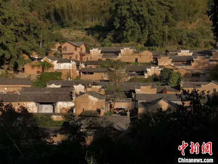 图为:松阳杨家堂古村落 范宇斌 摄