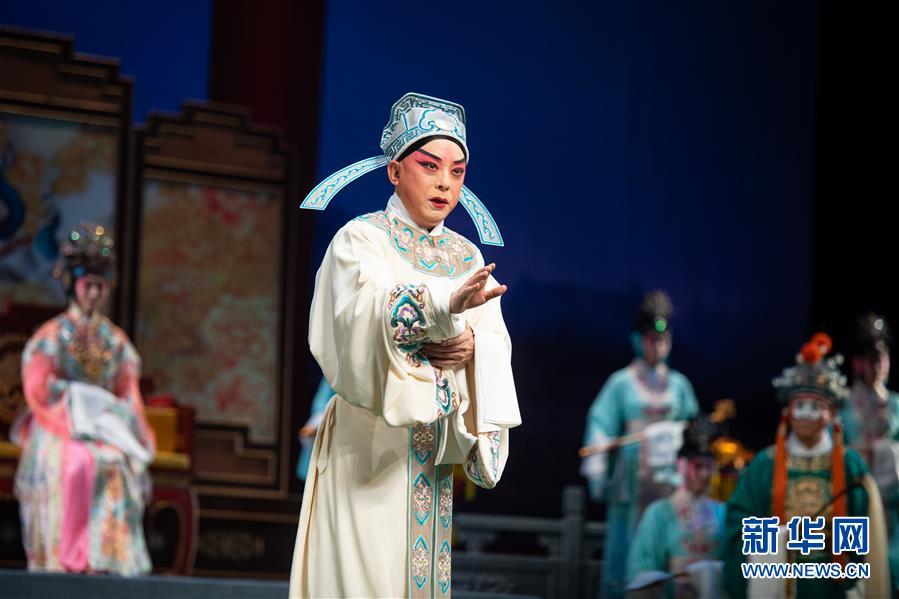 (文化)(1)国家京剧院在澳门演出《帝女花》