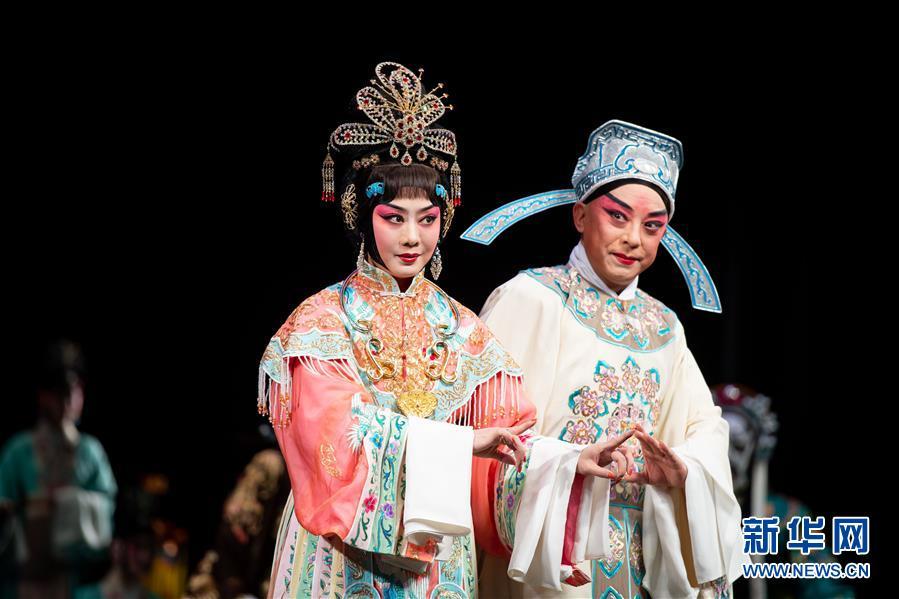 (文化)(2)国家京剧院在澳门演出《帝女花》