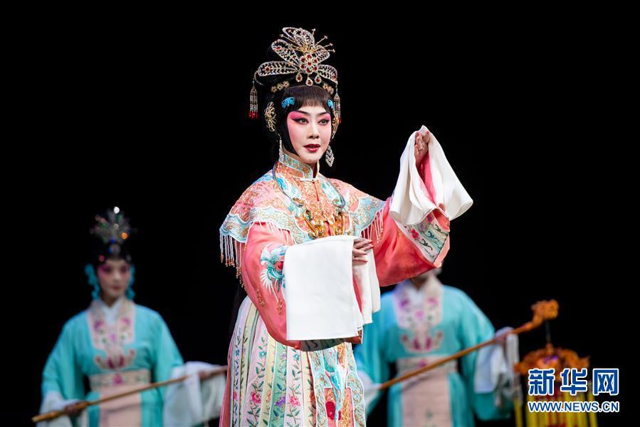 (文化)(4)国家京剧院在澳门演出《帝女花》
