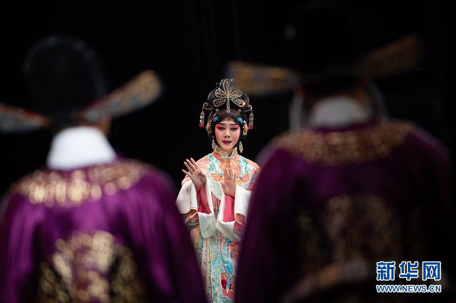 (文化)(5)国家京剧院在澳门演出《帝女花》