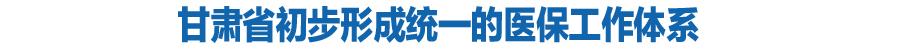葡京手机版初步形成统一的医保工作体系