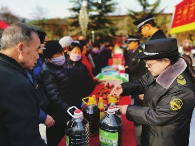 多部门开展整治食品安全问题联合行动 甘肃省销毁违法食品106吨