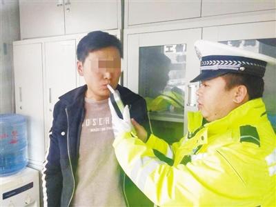 兰州:酒后驾车发现交警逃窜至工地 戏精司机假扮工人想蒙混过关