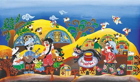【视点】扎根大地 我画我心 ——甘肃首届农民画作品展览作品选