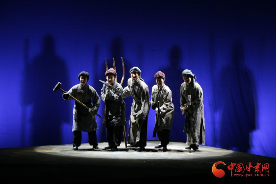 话剧《詹天佑》亮相兰州音乐厅 重温历史让工匠精神绽放时代光芒