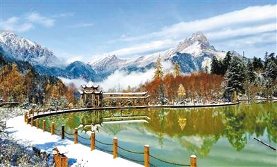 体验羌寨古风 有一种美,叫官鹅沟的冬天(图)