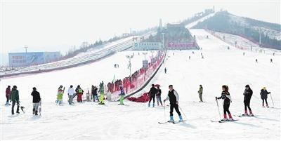 和政迎来滑雪季