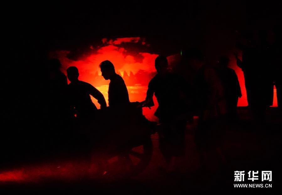 """(文化)(3)""""新中国从这里走来""""情景剧在雄安演出"""