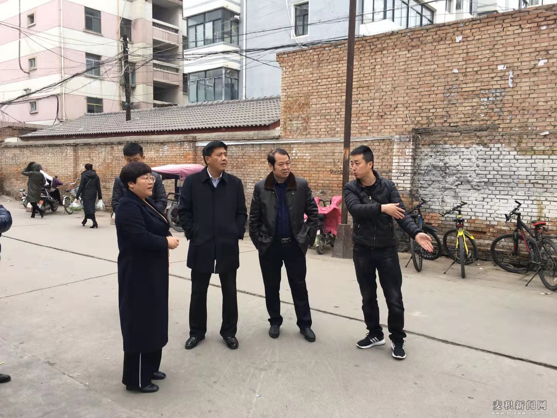 阎小鹏带队督查麦积区创建全国文明城市工作