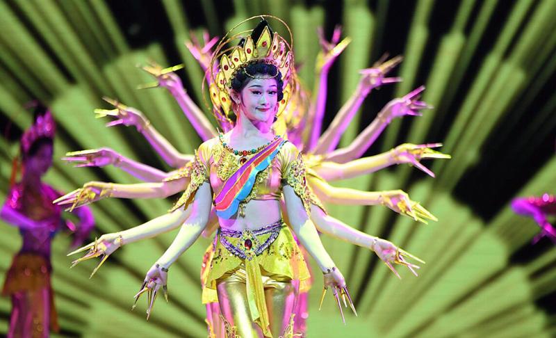 《舞从敦煌来》敦煌舞教学体系创建四十周年汇报演出精彩绽放