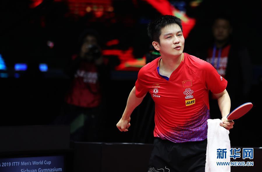 (体育)(1)乒乓球——国际乒联男子世界杯:樊振东夺冠