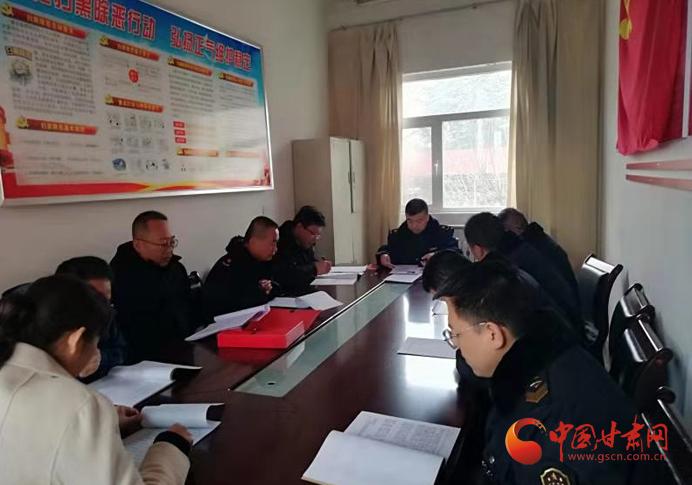 庆阳市西峰区董志市场监督管理所开展主题教育集中学习活动