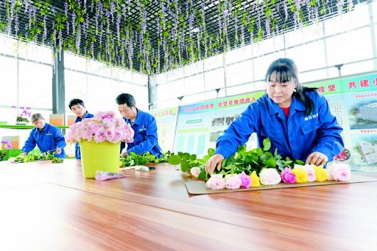 定西渭源:花卉产业助力脱贫攻坚