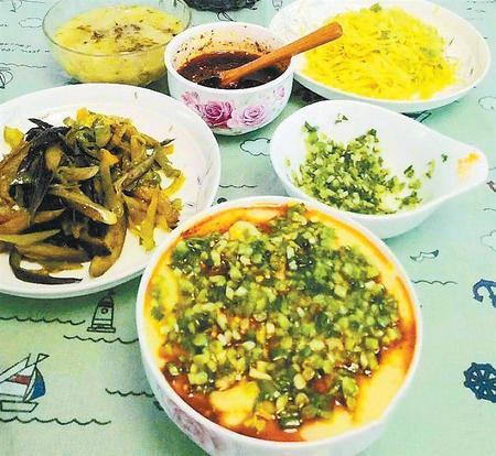 冬日乡村美食——馓饭