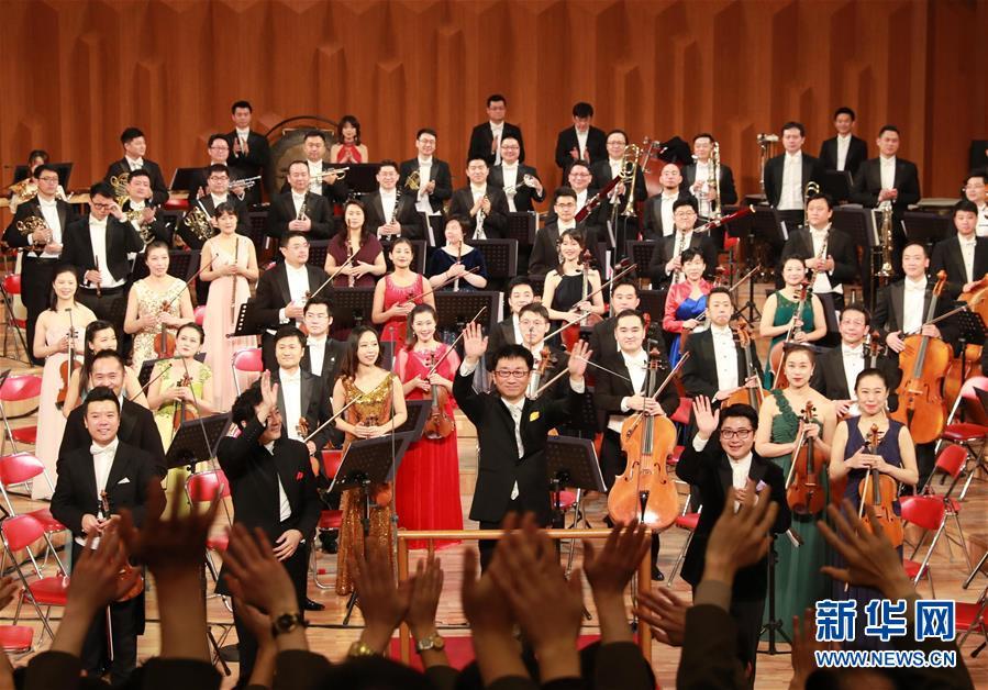 (国际)(1)中国国家大剧院交响乐团对朝鲜进行友好访问演出
