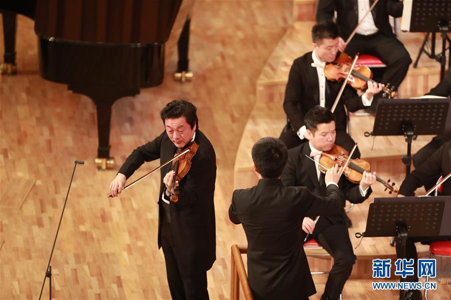 (国际)(3)中国国家大剧院交响乐团对朝鲜进行友好访问演出