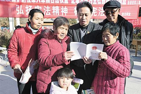 陇原各地举行宪法宣传活动(组图)