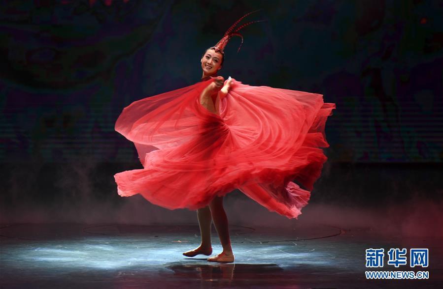 (文化)(1)第二届海上丝绸之路国际舞蹈艺术交流周开幕式在福州举行