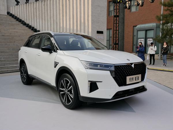东风启辰全新车型启辰星发布 基于新架构首款车型