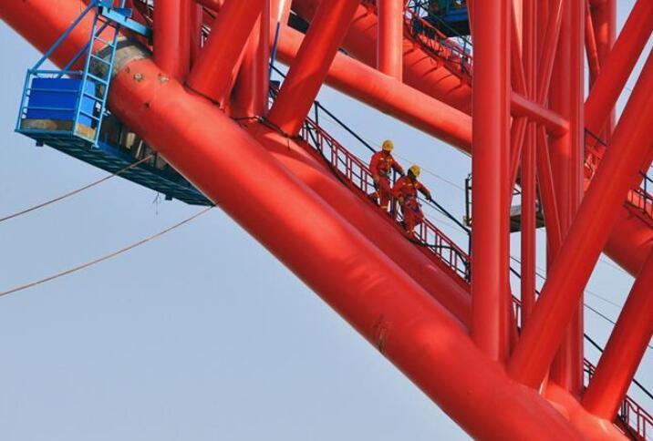 广西平南三桥建设进展顺利