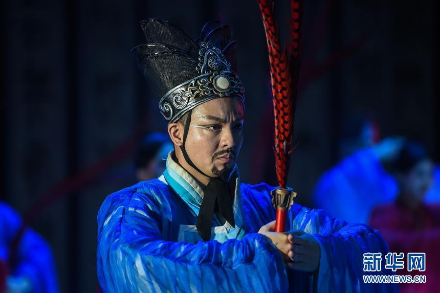 (国际)(6)中国舞剧《孔子》亮相莫斯科