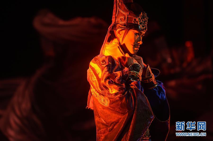 (国际)(11)中国舞剧《孔子》亮相莫斯科