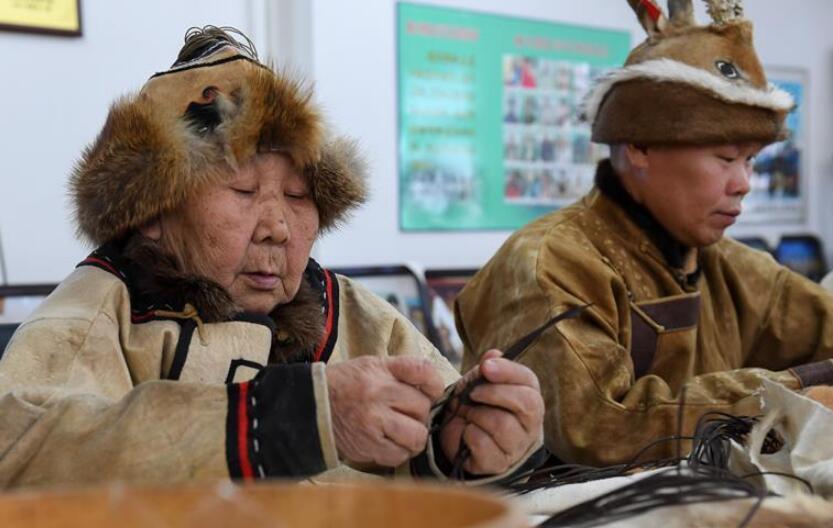 探访鄂伦春族猎民乡:猎民必需品变成旅游工艺品