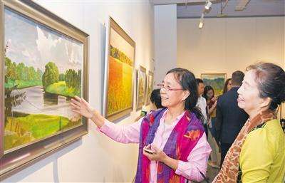 俄罗斯国立列宾美术学院油画展三亚开展