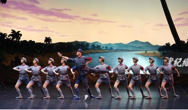 经典芭蕾舞剧《红色娘子军》在京上演