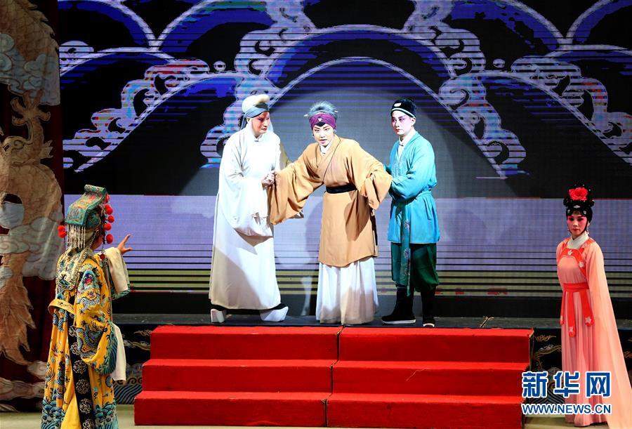 (文化)(2)银川第五届秦腔节《狸猫换太子》演出落幕