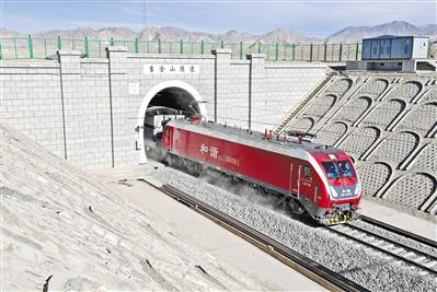 敦格铁路当金山隧道即将正式投用(图)