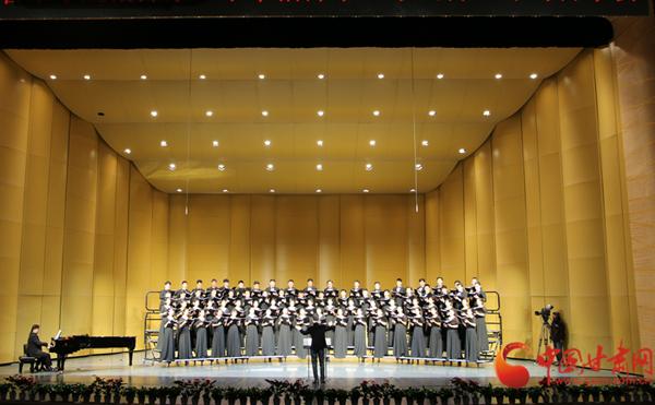 """最佳音乐""""拍档""""受好评 """"未来指挥家""""系列合唱专场奏响兰州音乐厅(图)"""