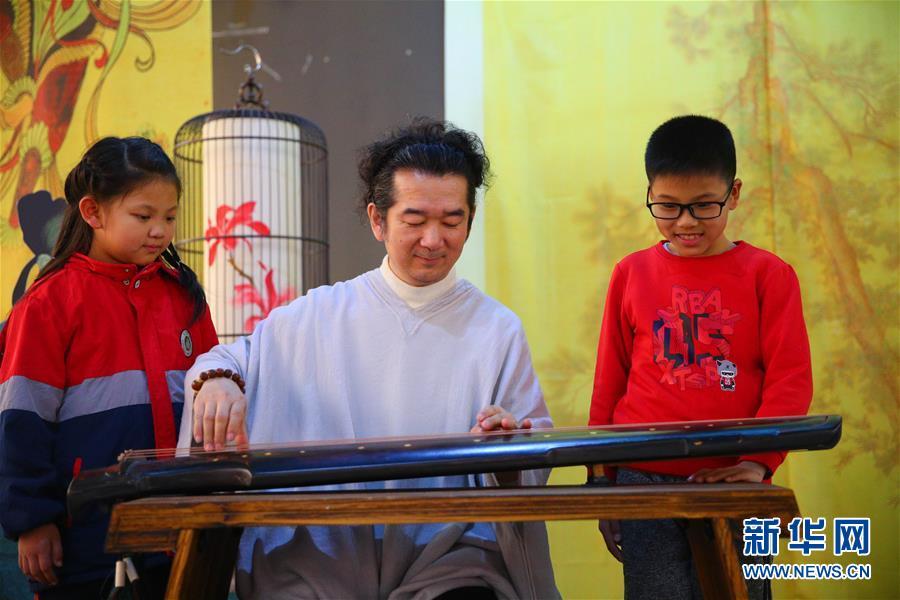 (文化)(3)校园里的古琴艺术展