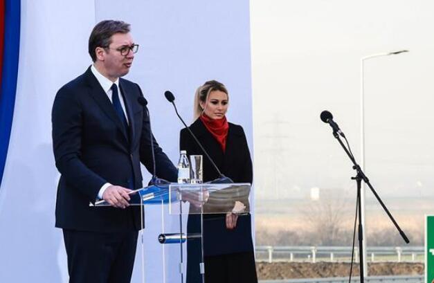 中企承建的塞尔维亚高速公路路段通车