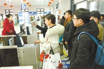 兰铁局集团公司8天售出春运火车票17.5万张